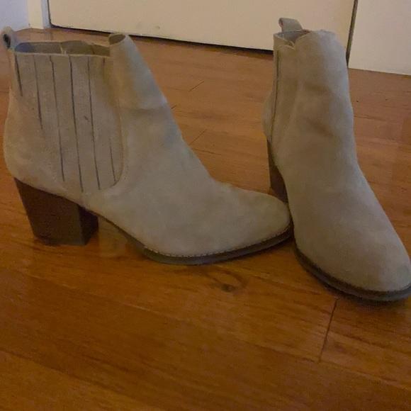 Crown Vintage Tan Ankle Booties - SIZE 11